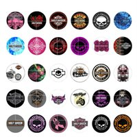 Wholesale Glass Cubes Wholesale - 2016 PUNK snap button jewelry charm popper for bracelet 30pcs   lot GL056 noosa snap jewelry making DIY