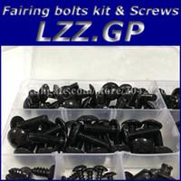 Wholesale Honda Goldwing Fairings - Fairing bolts full screw kits For HONDA GL1800 Goldwing 01-10 GL 1800 GL-1800 2001 2002 2003 2004 2005 2006 Nuts bolt screws kit