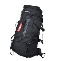ingrosso 55l borse da arrampicata esterne-Alpinismo Climbing Zaino Outdoor Travel Zaino Pack Impermeabile Climb Bagpack Borsa da donna Pack con coperchio