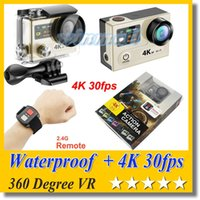 Wholesale waterproof hd professional video camera for sale - Group buy EKEN H8R H8 Ultra HD K fps Video Action Camera Remote Control inch quot Screen VR Waterproof Sport Camer