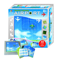 Wholesale Airport Toys - Wholesale-Child's favorite toy puzzle airports, aircraft maze Challenge fun game