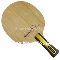 Aluminum Nylon Mid Plus Sanwei V9 Coach Dedicated (V 9, V 9) 9 Plywood OFF+  Table Tennis Blade For PingPong Racket