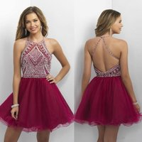 Where to Buy Blush Prom Homecoming Dresses Online? Buy Jewel Neck ...