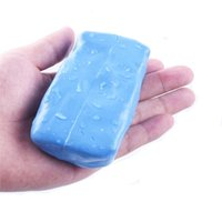 Wholesale Car Clay Free Shipping - 5pcs lot 3M Car Magic Clean Clay Bar glue Cleaner car care products Wash Sludgeree Accessories Free shipping AAA
