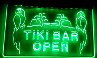 Wholesale Open Pub - LS017-g OPEN Tiki Bar NEW Displays Pub Neon Light Signs.jpg