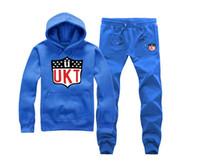 Wholesale Unkut Clothing - Men hip hop clothing unkut set hoodie +pants sweatshirt pullover casual streetwear sportswear male famous brand Rock Tracksuits