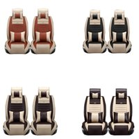 Wholesale Rav4 Interior Accessories - HIGH quality car seat covers set for vw Hyundai iX25 Toyota RAV4 auto interior accessories luxury design leather seat protector