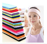 Wholesale black headscarf headband resale online - yoga hair band outdoor Sport hiking camping Headband outdoor running jogging Headscarf Wrap Hairband gym exercise sweat bands