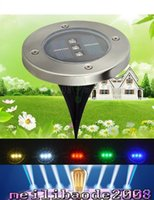 Wholesale Cheap Wholesale Cds - Solar LED underground lamp,Cheap solar lights ,LED Solar courtyard Lights,IP65 Waterproof buried lawn lamp floor lamps garden lights LLFA