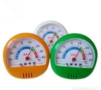Wholesale Display Freezers - 1 PCS new arrival Pointer Display Fridge Freezer Thermometer Thermograph Temperature tester with frame for Refrigerator -30-40C