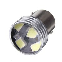 Wholesale Led Rear Turning Motorcycle Light - Turn Signal Lamp 2x White 1156 BA15S 6 SMD 2835 LED Turn Signal Rear Light Car Bulb Lamp Bulb 12V Universal Tail Lights For Motorcycle