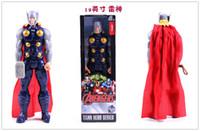 """Wholesale Toy Avenger - Marvel Heros Captain America Avenger Superhero PVC Action Figure Toy 12""""30CM Avengers Thor Captain America"""