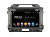 Wholesale Gps For Kia Sportage - 8'' Quad Core Android 5.1 Car DVD Stereo For Kia SPORTAGE 2010 2011 2012 With GPS Radio Wifi BT Support 3G DVR