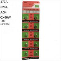 4bdd73f8c28 SR626SW AG4 LR626 626A 377A 6.8   2.6 mm 180 MAH 1.55 V alcalina relógio  Acessórios Atacado Bateria eletrônica bateria de botão