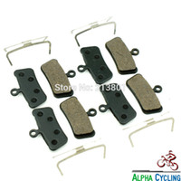 Wholesale Elixir Brakes - Wholesale-MTB Bike Disc Brake Pads for AVID Elixir Trail, X0 TRAIL, X7 Trail, X9 Trail, 4 Pistion Disc Brake, RESIN, 4 Pairs