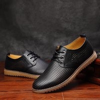 Wholesale High Quality Stylish Dressing - Italy men's fashion elegant and stylish high quality leather fashion shoe boom boys toes party of Oxford Shoes color unique hand sewn