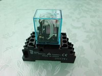 ingrosso relè a bassa potenza-MY4N-J 110VAC 5A Omron New Voltage Relay Low Power con base Garanzia di alta qualità per due anni