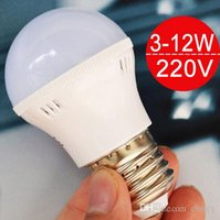 Wholesale E27 3w - High Brighness smd5730 LED light Bulbs E27 led globe bulb 3W 5W 7W 9W 12W AC110V 220V led light blubs