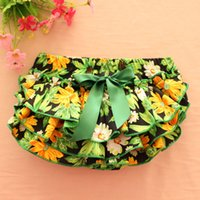 Wholesale Pp Colorful Flowers - Everweekend Girls Floral Ruffles PP Pants Colorful Toddler Baby Fashion Clothing Western Children Vintage Korea Pants