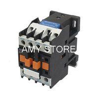 Wholesale 35mm Din Rail - Wholesale-Coil 50 60Hz 380-415VAC 20A 35mm DIN Rail 3P 2NO 2NC AC Contactor JZC4-22