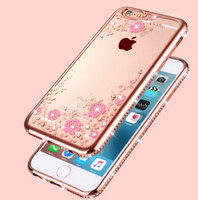 iphone 5s gold case for girls. for apple iphone gold dirt-resistant iphone 5 6 plus 7 rhinestone diamond cell phone case girl floral butterfly soft tpu cover 5s girls
