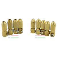 Wholesale electric motor track - New 9pc Set 2.3mm and 3.17mm Brass Electric Motor Shaft Clamp Fixture Chuck Collet Mini Small For 0.7mm-3.2mm Drill order<$18no track