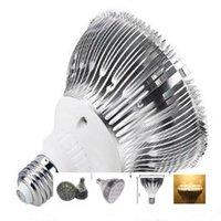 Wholesale Led Par38 15w Blue - DHL FREE SHIPPING Dimmable Led bulb par38 par30 par20 85-240V 12W 7W 15W 36W 45W E27 par 20 30 38 LED Lighting Spot Lamp light downlight
