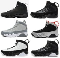 Men spirits halloween - 2017 air retro mans Basketball Shoes Cool Grey Black White Red Anthracite Barons The Spirit doernbecher release retro IX Sneakers