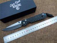 chris reeve cuchillos al por mayor-Nuevo Chris Reeve Large Sebenza cuchillo plegable Carbon Fibber mango D2 cuchilla de caza al aire libre cuchillo de supervivencia cuchillo utilitario EDC cuchillo