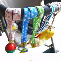 Wholesale Sippy Cup Strap - New Sippy Pal No Drop Baby Bottle Toy Sippy Cup Holder Strap For Stroller L00021 CAD