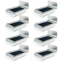mini linterna solar luces al por mayor-Al por mayor-UniqueFire 8pcs! 16 LED Lámpara de energía solar Sensor de movimiento Yarda Jardín Seguridad Ahorro de energía Luz solar Luz impermeable al aire libre