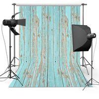 Wholesale Old Wood Background - 5X7ft(150x220cm)Wood Flooring for Newborn Free shipping Vinyl Photography Background Backdrops backgrounds for photo studio Floor592