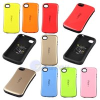 Wholesale Cover Iface Galaxy S3 - New iface Case Candy Color Back Cover Full Protective For Samsung galaxy S3 S4 S5 S6 Note3 note4 iphone4 5 5s 5c iphone 6 6 plus