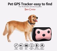 Wholesale Acura Automotive - Best Waterproof Smart Pets GPS Tracker collar GPS GPRS 4 Frequency GPS LBS Dual Location Remote Calling GPS Tracker