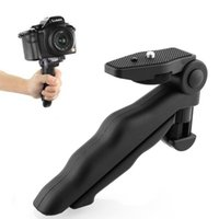 Wholesale Handheld Flexible Camera - Wholesale-Hot High Quality Portable Flexible 2 in 1 Handheld Grip Mini Tripod Stand for Digital Camera Camcorder