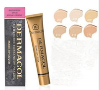 Wholesale Full Circle Lighting - 6PCScovered Filmstudio Barrandov Prague concealer makeup to cover up a tattoo waterproof the 50th anniversary of the limited edition 6 color