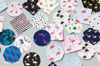 Wholesale Diy Scrapbook Decoration - Hot 45Pcs Flamingo Paper Sticker For DIY Gift Craft Label Birthday Party Decorations Cartoon Scrapbook Supplies Kids Favor