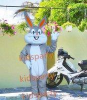 Wholesale Bugs Bunny Christmas - High quality Adult size Cartoon bugs bunny rabbit Mascot Costume mascot halloween costume christmas Crazy Sale