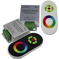 <b>Magic Dream Color</b> Controller LED RGB 5 touches Télécommande bande LED RGB Touch Panel RF Contrôleur DC 24V / 12V