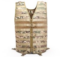 Wholesale new tactical vest online - New Fashional Outdoor VIP Molle Tactical Vest Duty Training Vest Multi functional Waterproof Breathable Hunting Vest for Sale