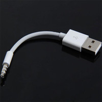 Wholesale cable gen for sale - Group buy Charger Data mm Audio to USB Sync Audio Cable for iPod Shuffle rd th Gen TH88