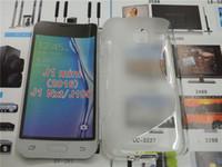 Wholesale Pop Line - Soft TPU Gel S line Skin Cover Case For Samsung Galaxy J7 POP Perx S8 S8 Plus S8+ Xcover 4 G390F Note 8 J1 mini 2016 J1 Nxt J105
