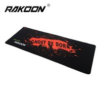 Zimoon Store Large Gaming Mouse Pad Locking Edge Speed ​​Version 30 * 80 CM Juego Mouse Mat Tapete de escritorio para Lol Dota 2 CS Go