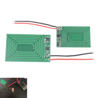 Wholesale Experiment Pcb - Ultra-thin PCB Wireless Charging Module Wireless Power Supply Module for DIY Electronic Experiments