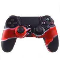 Wholesale silicone skin case ps4 resale online - Silicone Protective Sleeve Case Skin for PlayStation Dualshock PS4 PS3 Xbox ONE Gamepad Controller Camouflage Cover