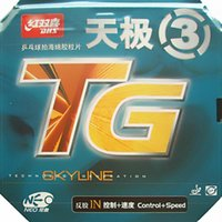 Wholesale Dhs Sponge - Wholesale-DHS NEO Skyline TG 3 (Control + Speed) Pips-In Table Tennis (PingPong) Rubber With Orange Sponge