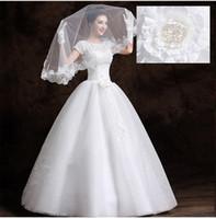 robes de mariée une sangle achat en gros de-Han Edition Cultiver Un Moral Marié En Dentelle Bracelet Pour Robe De Mariée Plus La Taille Robe De Mariée Robe De Mariée Taille Personnalisée Tapis Rouge Dresse