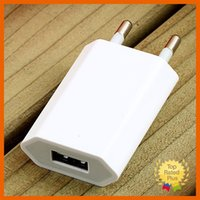 Wholesale Solar Phone Adapters - for iPhone Samsung USB Wall Charger 1A Charge Adapter Travel Power Charging for iPhone 6 6s 7 Plus Android Phone