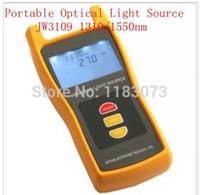 Wholesale Optical Testing - Portable Optical Light Source JW3109 1310 1550nm Laser Source For Maintenance Fiber Optic Lab Testing Free Shipping