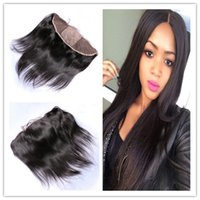 Seide Straight Seide Base 13x4 Full Lace Frontal Free Part Virgin Peruanischen Haar Seide Top Ohr bis Ohr Spitze Frontal Verschluss Bleached Knots